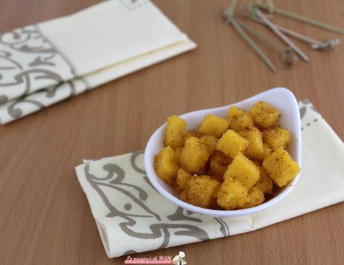Crostini di polenta alla paprica