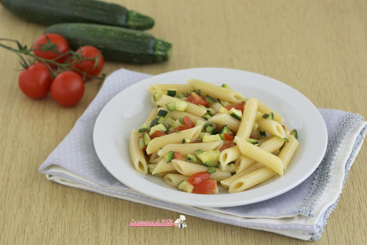 Pasta fredda con la zucchina le passioni di mam for La zucchina