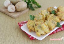 Frittelle con funghi e patate