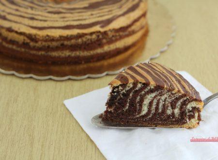 Torta zebrata, ricetta senza burro