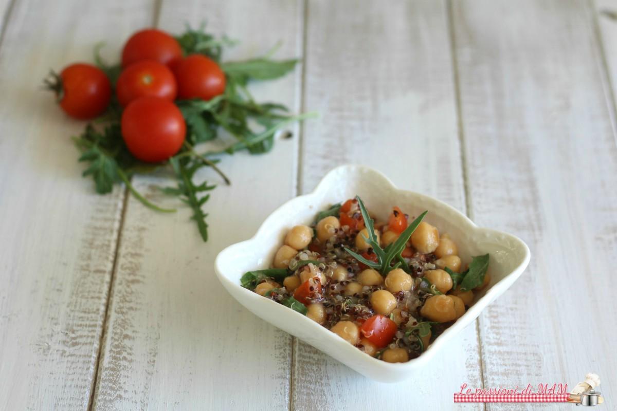 insalata di ceci e quinoa