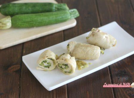 Involtini di petto di pollo e zucchina
