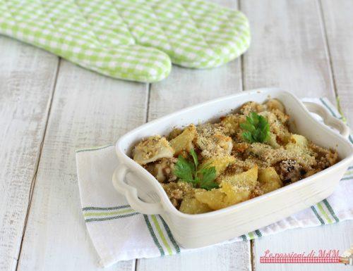 Seppie e patate al forno