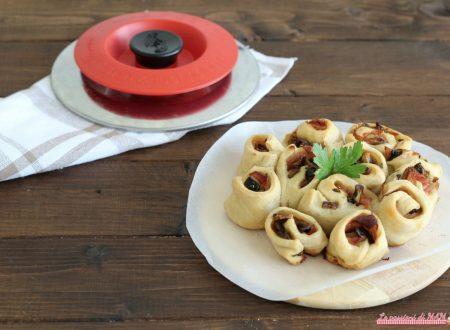 Torta di rose salata con magic cooker