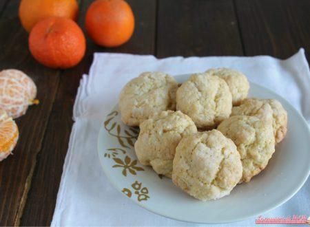 Biscotti  morbidi alle clementine