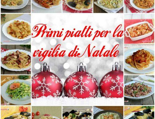 Primi piatti per la vigilia di Natale, ricette a base di pesce