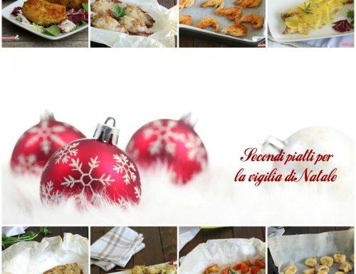 Secondi piatti di pesce per la vigilia di Natale