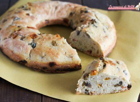 Ciambella di pane alle verdure