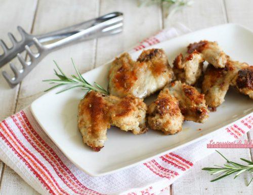 Ali di pollo gratinate con Magic Cooker