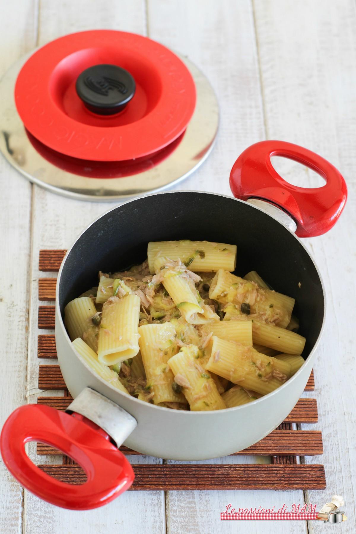 Pasta tonno e zucchina con Magic Cooker