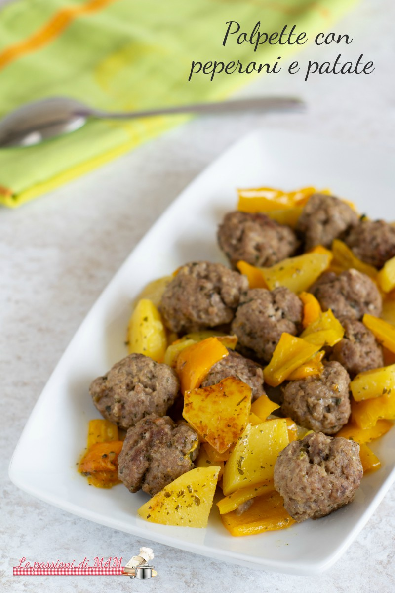 Polpette peperoni e patate