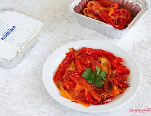 Congelare i peperoni arrostiti