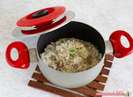 Risotto con la salsiccia con Magic Cooker
