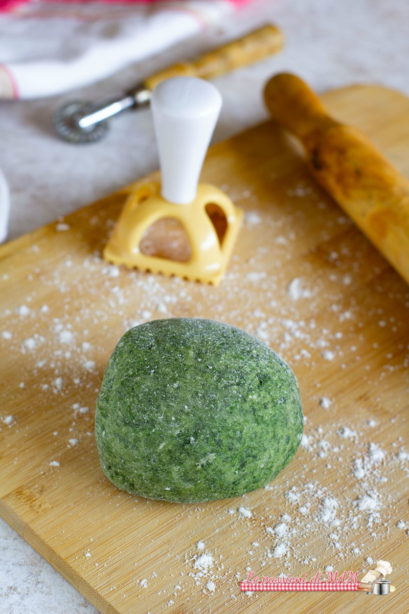 Impasto per Pasta Fresca Verde, con Spinaci