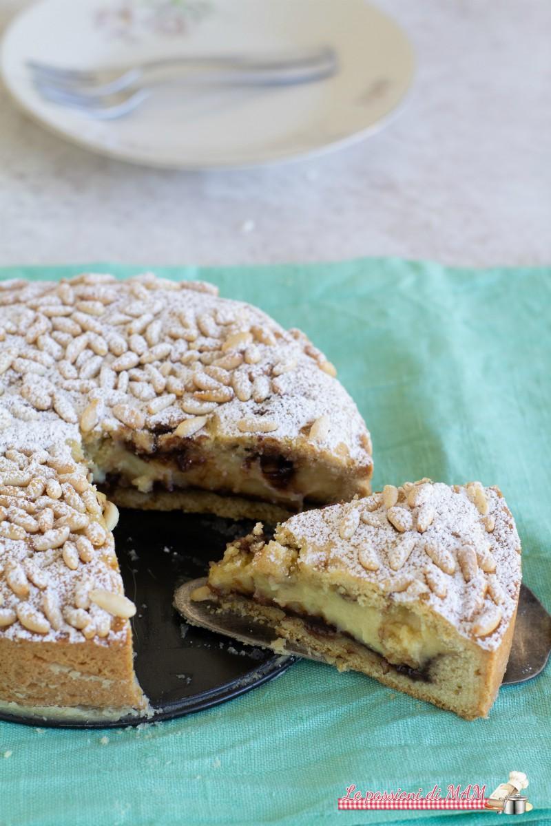 Torta Della Nonna con Crema e Nutella