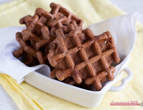 Galette belghe al cacao senza uova e senza burro