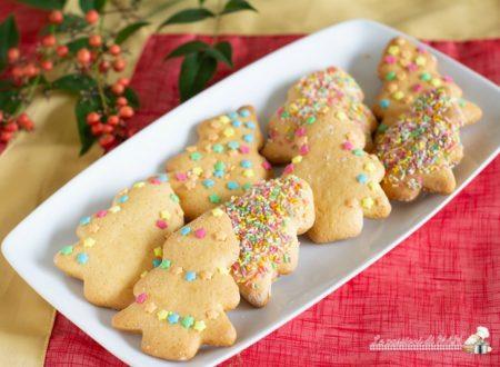 Biscotti alberelli di Natale