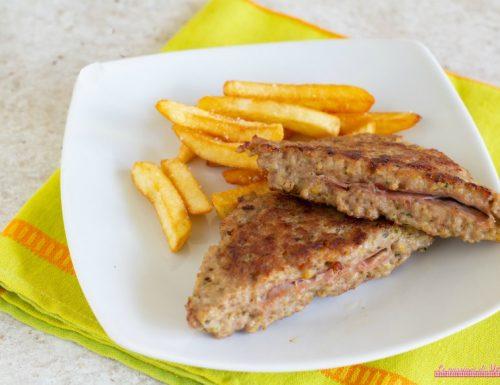 Tramezzini di carne con prosciutto cotto
