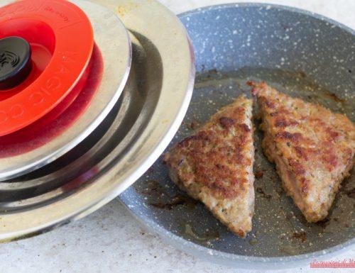 Tramezzini di carne con Magic Cooker