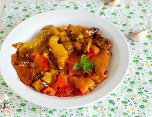 Peperoni arrostiti con Magic Cooker