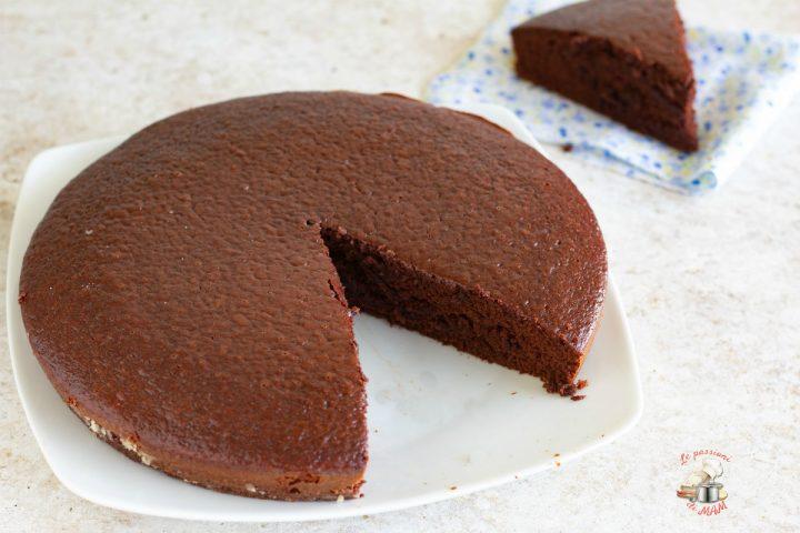 torta al latte e cacao senza uova
