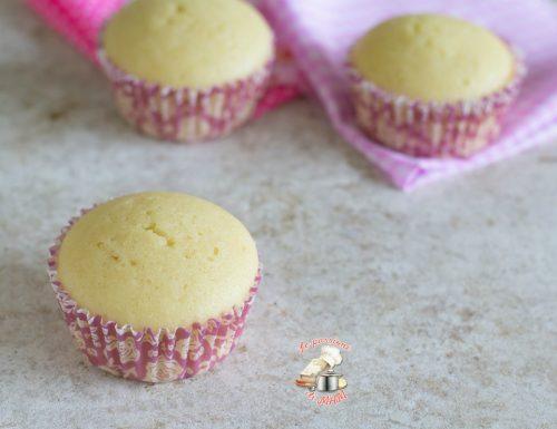 Muffin all'acqua senza uova