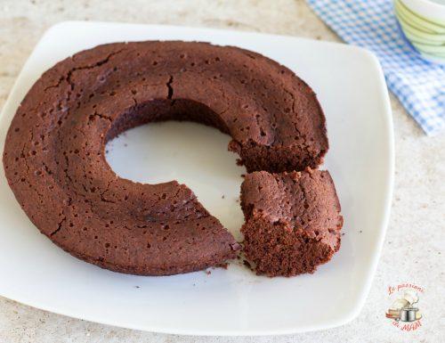 Ciambella al cacao con farina di riso