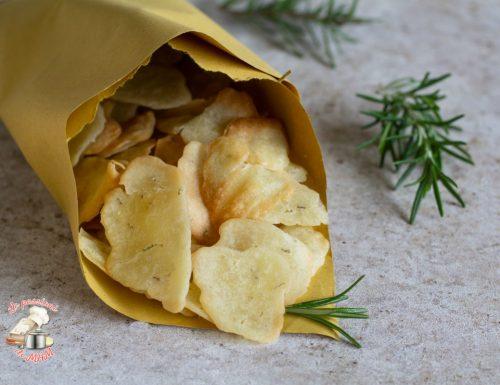 Chips di farina di riso