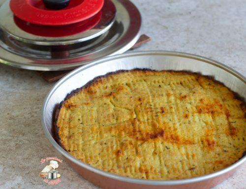 Pitta di patate nel kit forno Magic Cooker