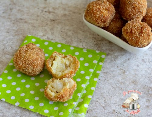 Crocchette di patate e merluzzo
