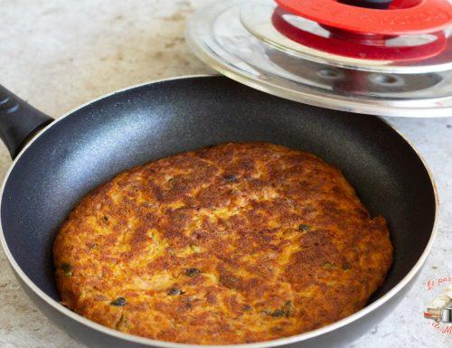 Frittata zucchine e patate con magic cooker