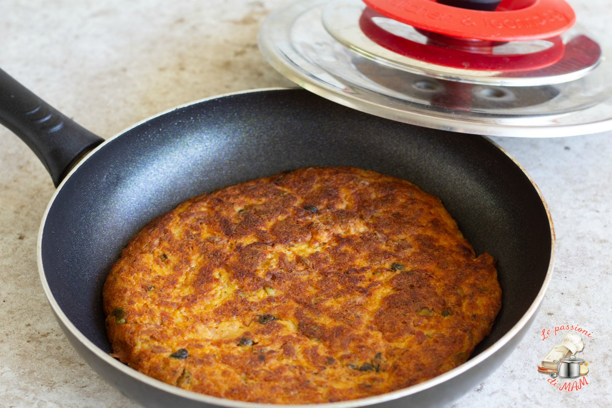 Frittata zucchine e patate con magic cooker