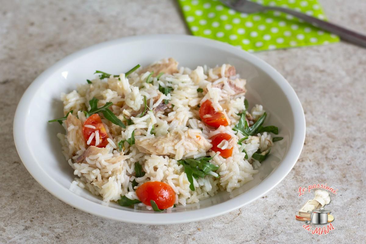 Insalata di riso con sgombro