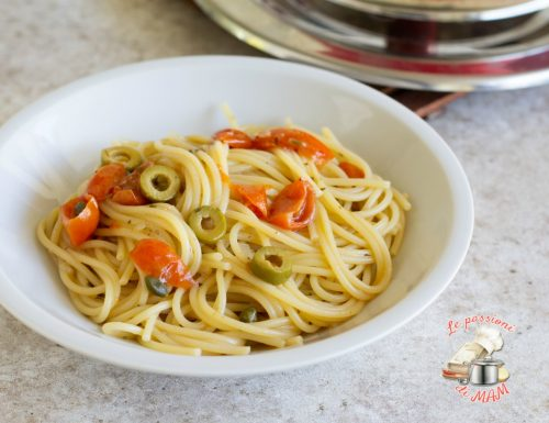 Spaghetti alle acciughe con magic cooker
