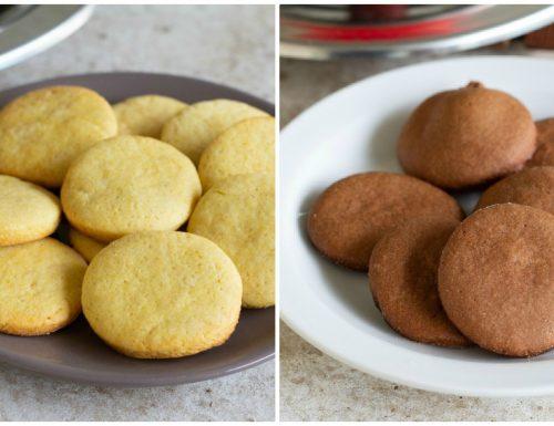 Biscotti senza burro nel kit forno magic cooker