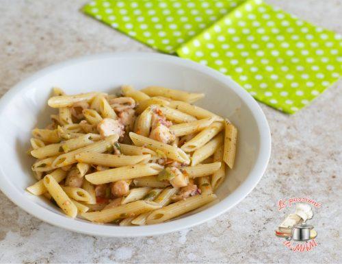Pasta con polpo olive e capperi