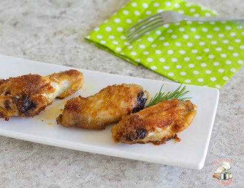 Ali di pollo gratinate alla paprica