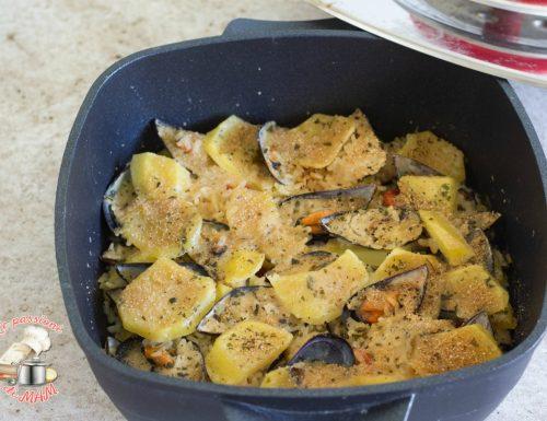 Riso patate e cozze con magic cooker