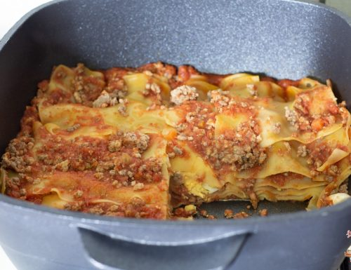 Lasagne al ragù con Magic Cooker
