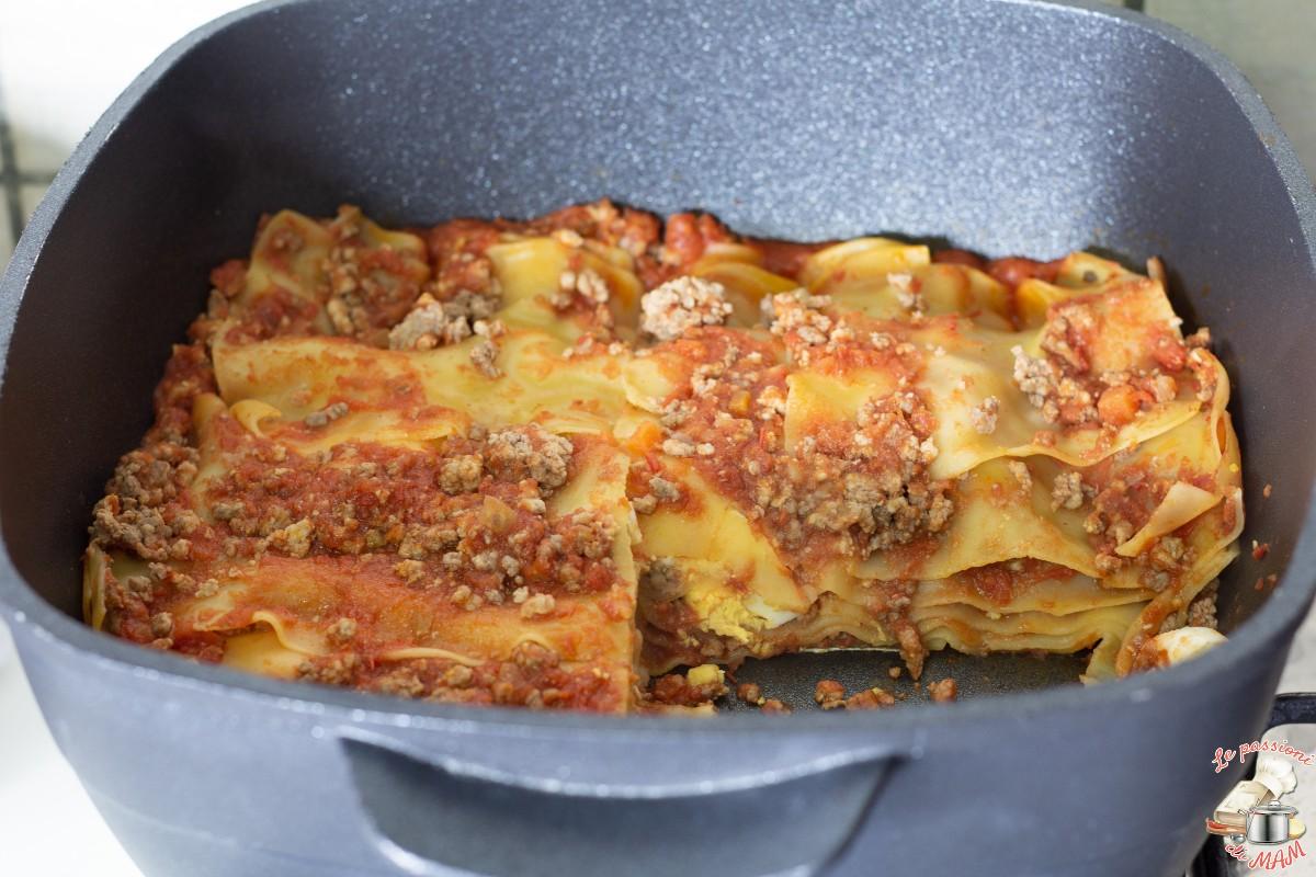 Lasagna al ragù con Magic Cooker