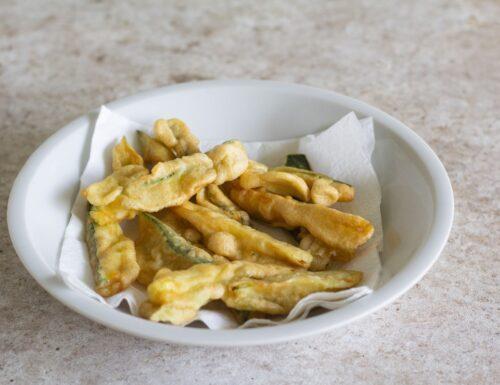 Zucchine in pastella con Magic Cooker