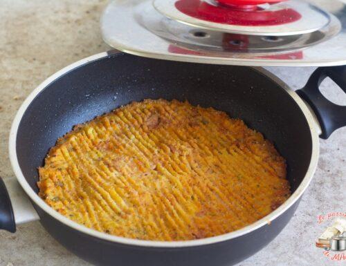 Tortino di patate e prosciutto con Magic Cooker