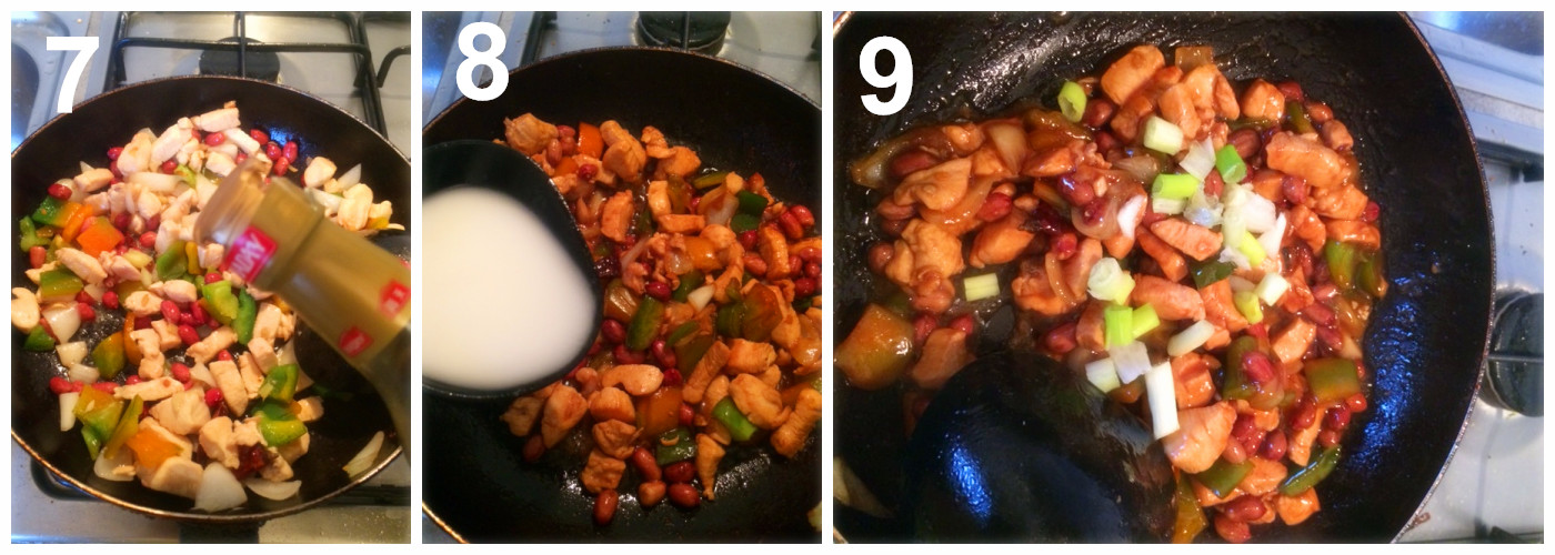 Pollo alla gongbao le ricette cinesi x italiani for Piatti cinesi piu mangiati