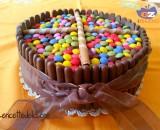 Torta smarties ricetta
