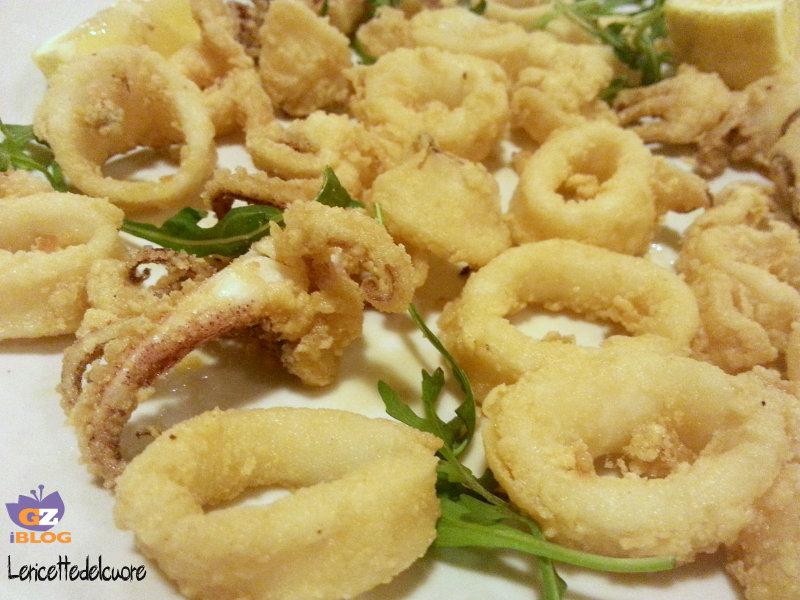 Ricette bimby anelli di calamari