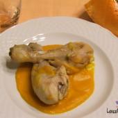 Pollo con la zucca ricetta