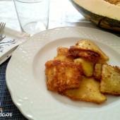 Zucca impanata e fritta ricetta