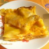 Lasagne zucca, speck e scamorza ricetta