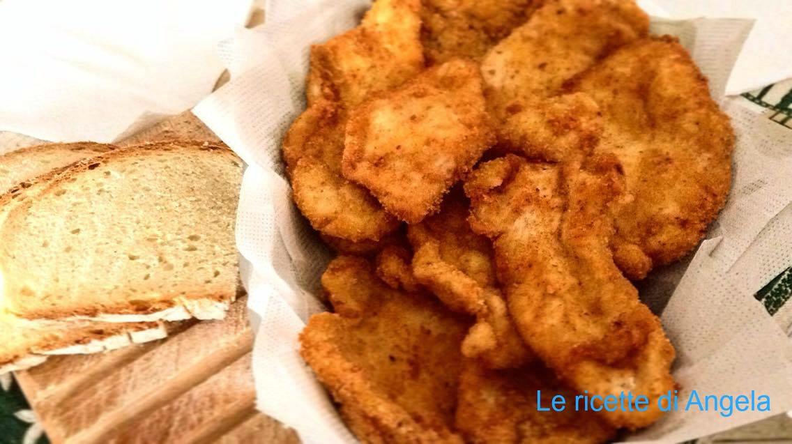 Cotolette di pollo fatte in casa