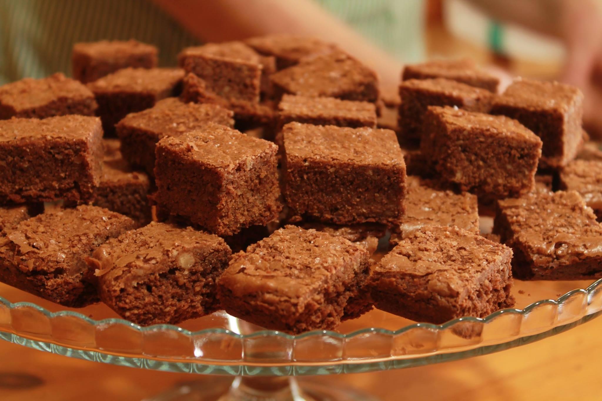 Brownies noci e cioccolato fondente